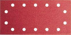 Papier ścierny C430, opakowanie 10 szt. 115 x 230 mm, 4x60; 4x120; 2x180