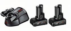Zestaw startowy Zestaw startowy: 2 akumulatory GBA 12V 4.0Ah + GAL 1230 CV