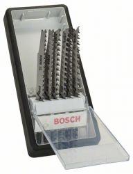 6-częściowy zestaw brzeszczotów do wyrzynarek Robust Line Wood Expert, chwyt teowy T 308 B; T 308 BF; T 301 BCP (2x); T 234 X (2x)