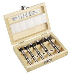 5-częściowy zestaw środkowców z węglików spiekanych (HM) 15; 20; 25; 30; 35 mm