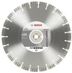 Diamentowa tarcza tnąca Best for Concrete 350 x 20,00+25,40 x 3,2 x 15 mm