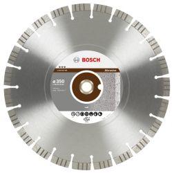 Diamentowa tarcza tnąca Best for Abrasive 350 x 20,00+25,40 x 3,2 x 15 mm
