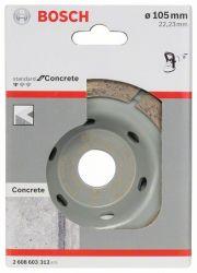 Diamentowa tarcza garnkowa Standard for Concrete 105 x 22,23 x 3 mm