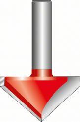 Frezy typu V 8 mm, D 31,8 mm, L 19 mm, G 51 mm, 90°