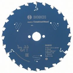 Tarcza pilarska Expert for Construct Wood 160 x 20 x 2,0 mm, 24