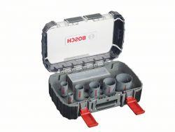 6-częściowy zestaw pił otwornic HSS-Bimetal dla elektryków 22; 29; 35; 44; 51; 64 mm