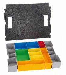 Segmenty do przechowywania drobnych elementów L-BOXX 102, zestaw pojemników Inse