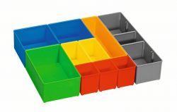 Segmenty do przechowywania drobnych elementów i-BOXX 72, zestaw pojemników Inset
