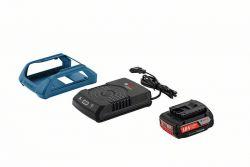 Zestaw startowy Zestaw startowy: GBA 18V 2.0Ah W + GAL 1830 W Wireless Charging