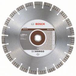 Diamentowa tarcza tnąca Best for Abrasive 350 x 25,40 x 3,2 x 15 mm