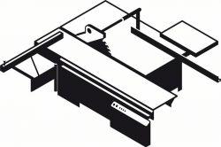 Stożkowa tarcza do nacinania Best for Laminated Panel 100 x 22 x 2,2 mm; 24