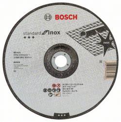 Tarcza tnąca wygięta Standard for Inox WA 36 R BF, 230 mm, 22,23 mm, 1,9 mm