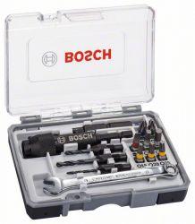 20-częściowy zestaw końcówek wkręcających Drill&Drive PH2; PH2; PZ2; SL5; H4; H5; T15; T20; T25
