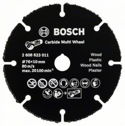 Tarcza tnąca Carbide Multi Wheel 76 mm 76 mm; 1 mm; 10 mm
