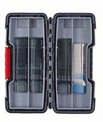 40-częściowy zestaw brzeszczotów do wyrzynarek, Wood and Metal T 244 D (10x); T 144 D (10x); T 101 B (10x); T 121 AF (10x)