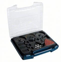 34-częściowy zestaw profesjonalny do i-BOXX, do wykańczania wnętrz ACZ 100 BB; ACZ 85 EIB; ACZ 100 SWB; AII 65 BPB (2x); AIZ 32 APB (2x); AIZ 32 BSPB (2x); AIZ 32 EPC (2x); ATZ 52 SFC (2x); AVZ 93 G; papier ścierny Wood and Paint (20x)