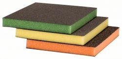 3-częściowy zestaw padów szlifierskich 98 x 120 x 13 mm, M, F, SF