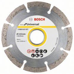 Diamentowa tarcza tnąca ECO for Universal 115x22.23x2.0x7mm