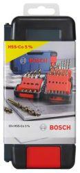 18-częściowy zestaw wierteł do metalu HSS-Co Toughbox, DIN 338, 135° 1; 1,5; 2; 2,5; 3; 3,5; 4; 4,5; 5; 5,5; 6; 7; 8; 9; 10 mm