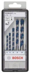 5-częściowy zestaw wierteł do betonu Robust Line CYL-5 4; 5; 6; 6; 8 mm