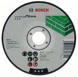 Tarcza tnąca wygięta Standard for Stone C 30 S BF, 125 mm, 22,23 mm, 2,5 mm
