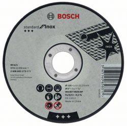 Tarcza tnąca prosta Standard for Inox WA 60 T BF, 115 mm, 22,23 mm, 1,6 mm