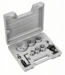 9-częściowy zestaw pił otwornic HSS-Bimetal 22; 29; 35; 44; 51; 65 mm