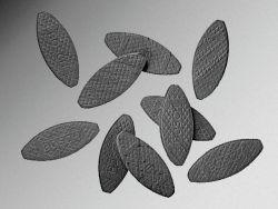 Łączniki płaskie 55 x 19 x 4 mm