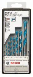 7-częściowy zestaw wierteł wielozadaniowych CYL-9 Multi Construction Robust Line 5; 5,5; 6; 6; 7; 8; 10 mm