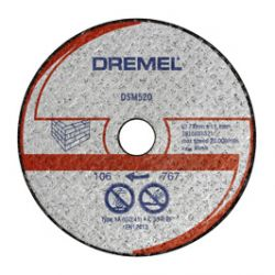 DREMEL® DSM20 tarcza tnąca do kamienia