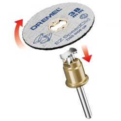 DREMEL® EZ SpeedClic: tarcze tnące do metalu (pakowane po 12).