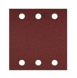 Papier ścierny C470, opakowanie 10 szt. 115 x 107 mm, 80