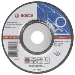 Tarcza ścierna wygięta Expert for Metal A 30 T BF, 180 mm, 8,0 mm