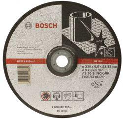 Tarcza ścierna wygięta Expert for Inox AS 30 S INOX BF, 230 mm, 6,0 mm