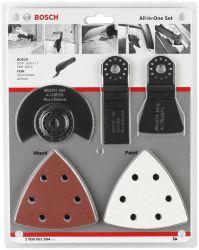 13-częściowy zestaw uniwersalny ACZ 85 EB (1x); AIZ 32 APB (1x); ATZ 52 SFC (1x); papier ścierny Wood and Paint (10x)