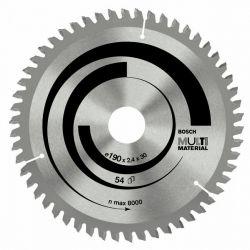 Tarcza pilarska Multi Material 190 x 20/16 x 2,4 mm; 54