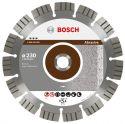 Diamentowa tarcza tnąca Best for Abrasive 180 x 22,23 x 2,4 x 12 mm