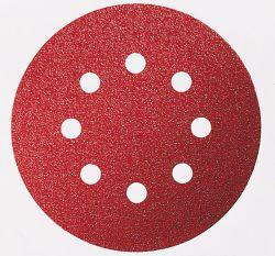 Papier ścierny C430, opakowanie 5 szt. 125 mm, 240