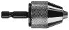 Szybkozaciskowy uchwyt wiertarski do 10 mm D = 1,5 - 13 mm; A = 1/4`` (zewnętrzny sześciokątny)
