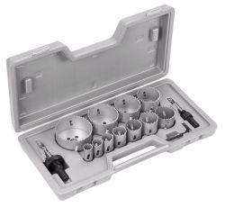 14-częściowy zestaw pił otwornic HSS-Bimetal 19; 22; 25; 29; 35; 38; 44; 51; 57; 64; 76 mm