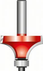 Frez zaokrąglający 8 mm, D 25,4 mm, R1 6,35 mm, L 12,7 mm, G 55 mm