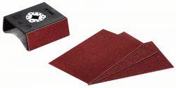 Nakładka szlifująca do profili Starlock AUZ 70 G z 4 papierami ściernymi, 70 x 125 mm 70 mm