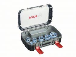 9-częściowy zestaw pił otwornic Sheet Metal dla instalatorów sanitarnych 20; 25; 32; 38; 51; 64 mm