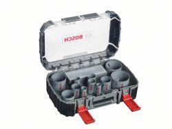 17-częściowy zestaw pił otwornic HSS-Bimetal do zastosowań uniwersalnych 20; 22; 25; 32; 35; 40; 44; 51; 60; 64; 76 mm