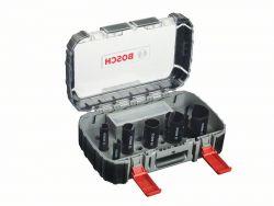 10-częściowy zestaw pił otwornic Multi Construction dla instalatorów sanitarnych 20; 25; 32; 38; 51; 64 mm