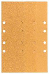 Papier ścierny C470, opakowanie 10 szt. 93 x 230 mm, 3 x 60; 4 x 80; 3 x 120
