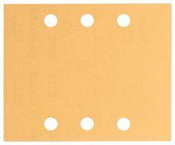 Papier ścierny C470, opakowanie 10 szt. 115 x 140 mm, 2x40; 2x60; 2x80; 2x120; 2x180