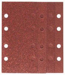25-częściowy zestaw papierów ściernych do szlifierek oscylacyjnych, ziarnistość 40, 60, 80, 120