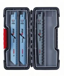 15-częściowy zestaw brzeszczotów do pił szablastych, Wood and Metal Basic S 918 AF (5x); S 918 BF (5x); S 617 K (5x)