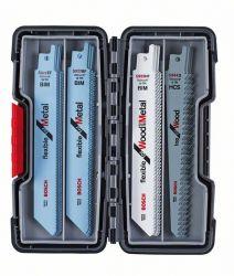 20-częściowy zestaw brzeszczotów do pił szablastych, Wood and Metal S 922 EF (5x); S 922 BF (5x); S 922 HF (5x); S 644 D (5x)